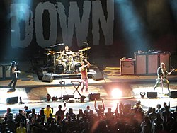 I System of a Down in concerto nel 2012.