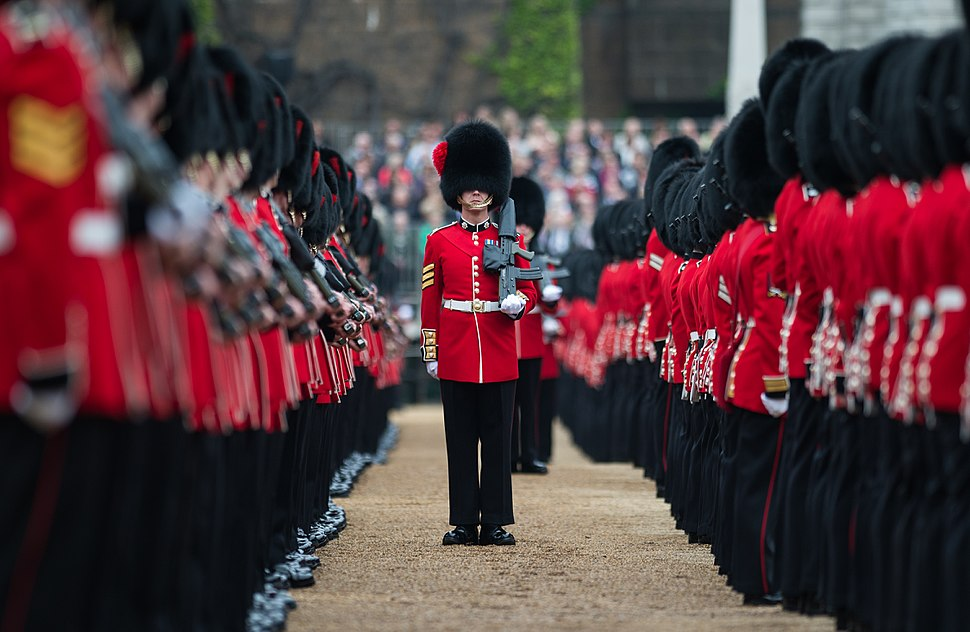 SOLDIERS COMPLETE FINAL REHEARSAL AHEAD OF THE QUEEN%27S BIRTHDAY PARADE MOD 45159988