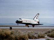 STS-5 landing
