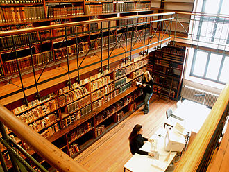 Göttingen State and University Library - Image: SUB Goettingen Forschungsbibliothek 6