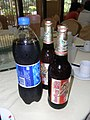 SZ Shenzhen Tour Lunch time 深圳遊 Aug-2010 金威啤酒 Kingway beers n Pepsi Coke.jpg
