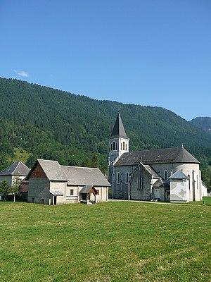 Arcabas - Saint-Hugues church