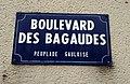 Saint-Maur-des-Fossés - Boulevard des Bagaudes - Plaque (déc 2018).jpg