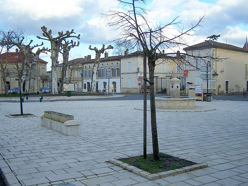 Place in Saint-Symphorien (Gironde, France)