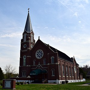 Saint Mary's Catholic Church (Pierce City, Missouri) - exterior.jpg