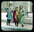 Saint Petersburg. Hermitage (the New Hermitage) girls outside the museum.jpg