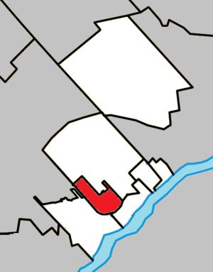 Sainte-Thérèse, Quebec - Image: Sainte Thérèse Quebec location diagram