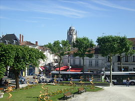 Historic centre of Saintes.