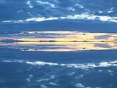 Salar de Uyuni lake