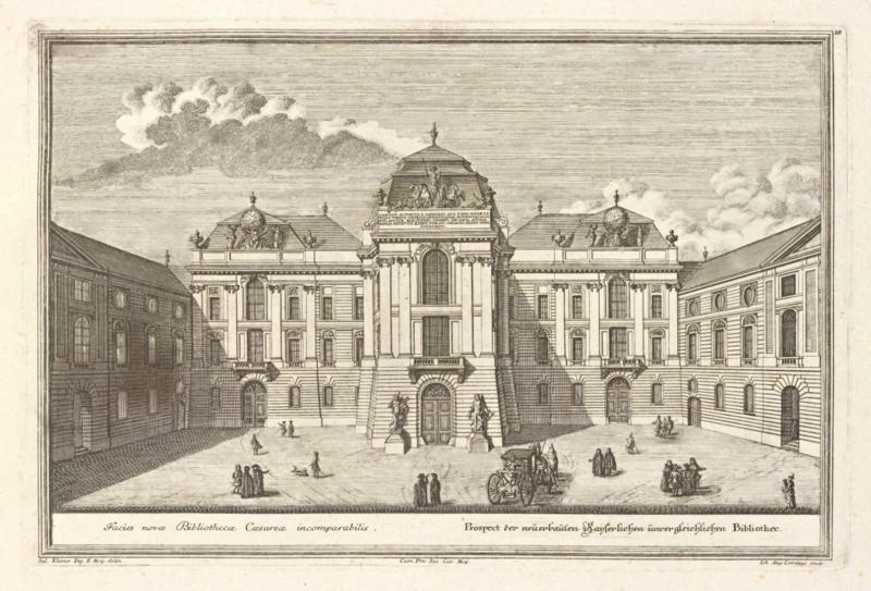 File:Salomon Kleiner Hofbibliothek am Josefsplatz in Wien.png
