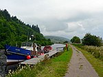 File:Saltire on the Crinan Canal - geograph.org.uk - 932604.jpg