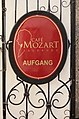 Salzburg - Altstadt - Getreidegasse 22 Café Mozart - 2019 07 26 - Schild 3.jpg