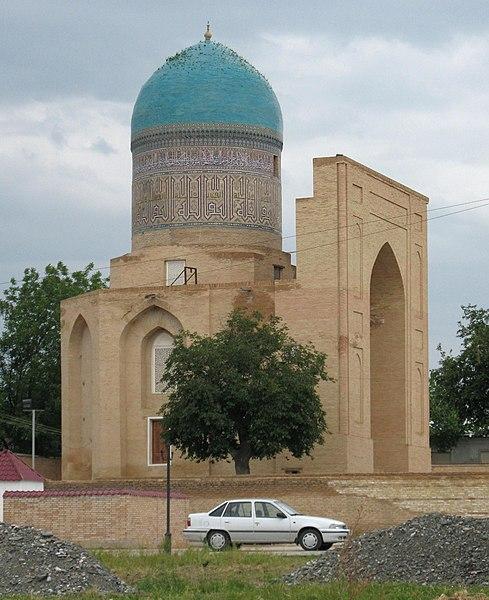 Datei:Samarqand Bibi Khanum Mausoleum.jpg