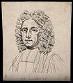Samuel Clarke; portrait. Drawing, c. 1794. Wellcome V0009243.jpg