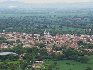 San Martín de Hidalgo Town in Jalisco, Mexico