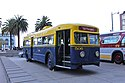 San Francisco Muni St Louis-built trolleybus 506 on display in 2012.jpg