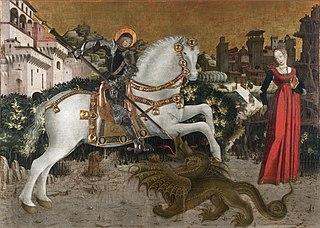 Saint George and the princess