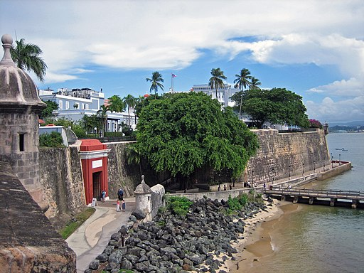 San Juan City Wall Puerto Rico