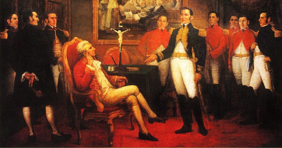 La reunión de san martin
