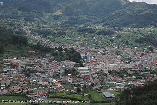 San Pedro Soloma Municipality in Huehuetenango, Guatemala