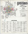 Sanborn Fire Insurance Map from Hastings, Adams County, Nebraska. LOC sanborn05196 008-1.jpg