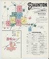 Sanborn Fire Insurance Map from Staunton, Independent Cities, Virginia. LOC sanborn09077 003-1.jpg