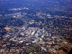 Sandton CBD and Sandton City Shopping Centre