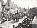Sanger's Circus, Wednesday Market, Beverley 1901 (archive ref DDPD-2-1-32) (25381072176).jpg