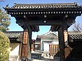 Sanjûsangen-dô Buddhist Temple - West gate.jpg