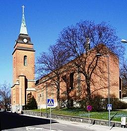 Sankt Görans kirke i april 2008