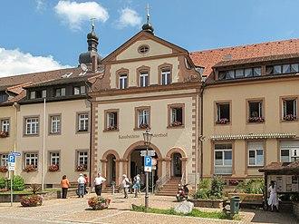 Sankt Peter, Baden-Württemberg - Image: Sankt Peter, Kaufstätte Klosterhof foto 3 2013 07 25 12.38