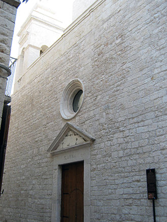 St. Anne's Church, Trani - Facade of the church