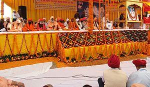 Shri Guru Ravidass Janam Asthan - Image: Sant Samaj at 635th Birth Anniversary of Guru Ravidass ji at Varanasi