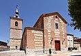 Santa Cruz del Retamar, Iglesia parroquial, fachada principal.jpg