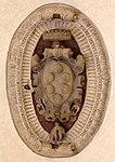Santo spirito, nuova sala capitolare del 1682, stemma medici sulla volta.jpg