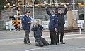 Sanyo Electric Railway Express train derailment 12 Feb 2013 03.JPG