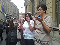 Sarajevans in funeral of 136 Srebrenica genocide victims July 2015 090720151599.jpg
