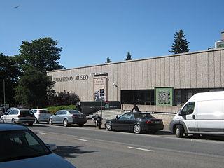 Historical museum in Pori, Finland