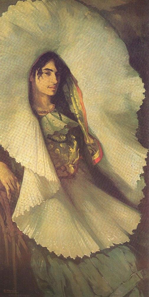 Saturnino Herran Mujer en Tehuantepec (1914)