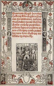 Gesta Danorum - Wikipedia, the free encyclopedia