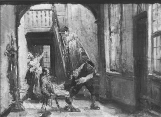 Scene from an Inn