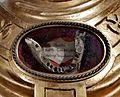 Schatkamer St-Servaasbasiliek Maastricht, reliekbuste H Gondulfus (XIX) - detail.jpg