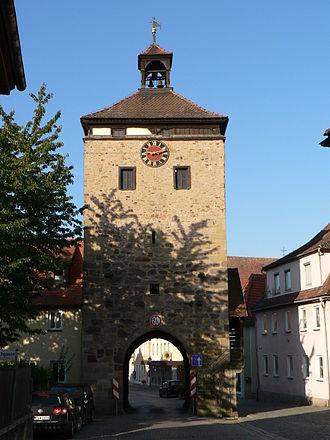 Scheinfeld - Image: Scheinfeld Stadttor