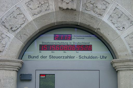 Schuldenuhr 2006 08