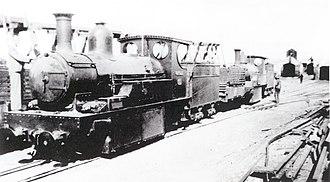 Namaqualand 0-6-2 Scotia Class - Image: Scotia Class 0 6 2 b