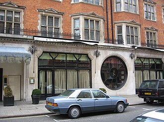 Balcombe Street siege - Scott's restaurant in 2005, the attack on which preceded the siege