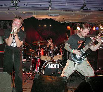 Pig Destroyer - Pig Destroyer at Maryland Deathfest in 2005.