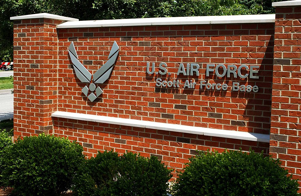 Scott AFB Welcome Sign