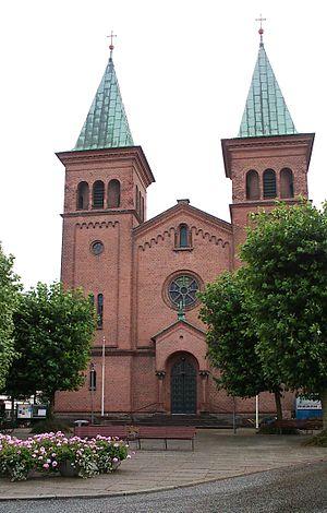 St. Paul's Church, Aarhus - Image: Sct. Pauls Kirke (Aarhus)