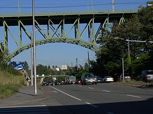 Jose Rizal Bridge - Jose Rizal Bridge in 2007
